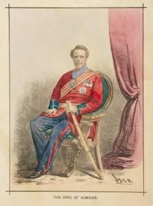 King of Kumaon - Indian Charivari Album - 1875