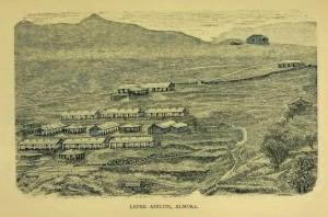 Leper Asylum at Almora 1868
