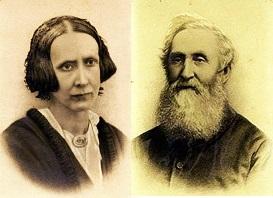 Sarah Odell Budden (d.1859) & Rev. John Henry Budden (1813-1890)