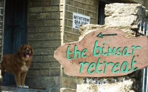 Way to Binsar Retreat and Simba